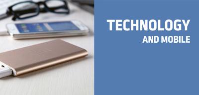 Technologie a mobilní příslušenství